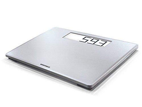 Soehnle Style Sense Safe 200 Personen Digitalwaage mit extragroßer LCD-Anzeige, Waage mit An- und...