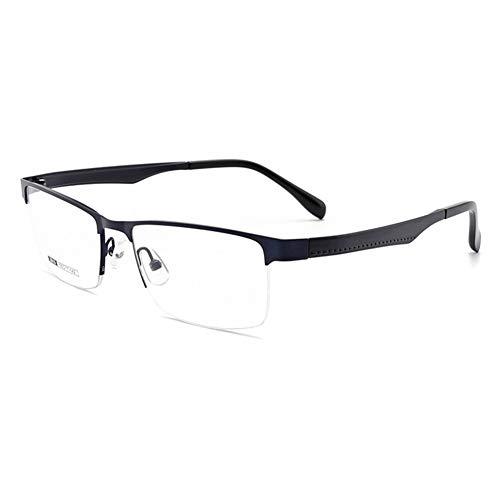 EYEphd Gafas de Lectura para Hombre Gafas de Sol fotocromáticas multifocales progresivas para Exteriores / UV400 /antideslumbrante Aumento +1.0 a +3.0,Azul,+1.0