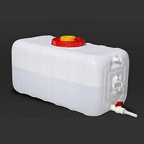 ZfgG Outdoor Water Tank, Dikke Plastic Regenwater Collectie Bucket, Thuis Auto Draagbare Water Opslag Container, Met Kraan, Anti-aging
