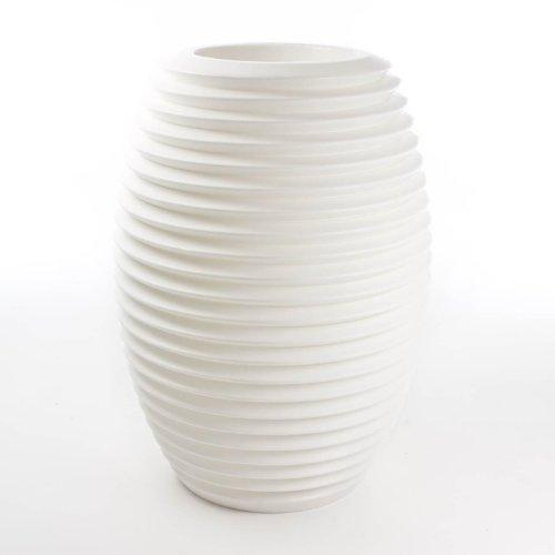 Top Pot rigida per vaso da fiori, bianco, Standard