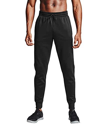 Under Armour - Pantalón de chándal para Hombre, Not Applicable, Chaqueta de Forro Polar Armour, Hombre, Color Negro/Negro (001), tamaño Extra-Large
