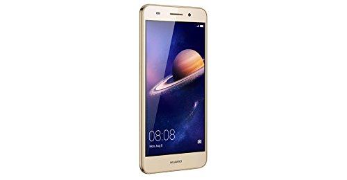 Huawei Y6 II Compact Smartphone (12,7 cm (5 Zoll), Dual SIM, 16GB, 13MP Kamera, Android 5,1 Lollipo) gold