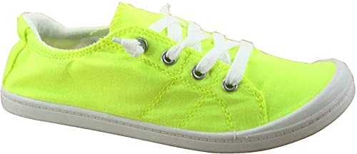 Top 10 best selling list for neon flat shoes yellow