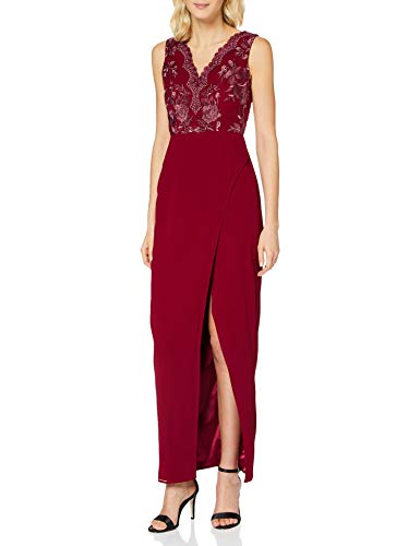 Chi Chi London Damen Chi Thalia Dress Kleid, rot, 38