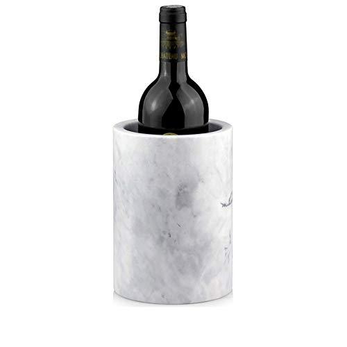 QZH Weinkühler Marmor Stil handgemachte Weinkühler Eimer Getränk Gefrieren Kühler Halterung Utensilien Bar Counter Home DecorationEis Eimer Kits, Eiskübel Kits,