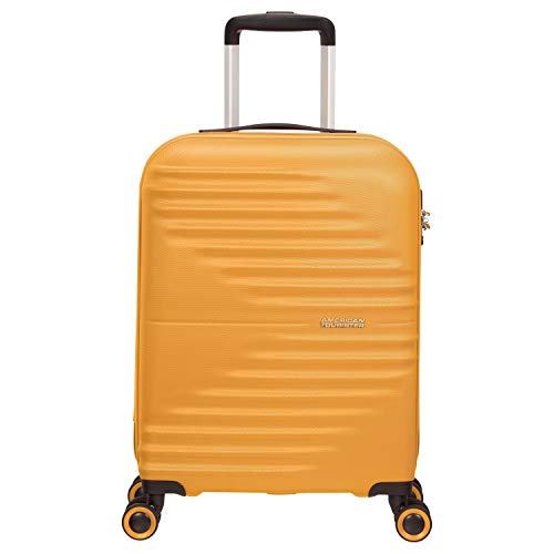 Trolley Rigido 55 cm 4 Ruote Cabina | American Tourister Wavetwister | MA0001-Sunset Yellow