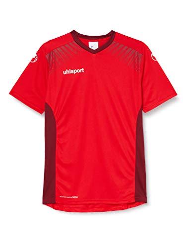 uhlsport Herren Goal Trikot KA, rot/Bordeaux, M