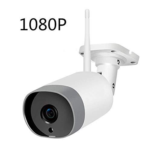 Outdoor bewakingscamera, 1080p Wireless WiFi huistoezicht waterdichte camera met nachtzicht, bewegingsdetectie, Werkt op Smart Phones Babyfoon met camera,leilims