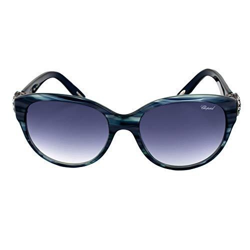 Chopard Gafas de Sol Mujer SCH-185S-0931 (Diametro 55 mm), Blue, Talla Unica Unisex-Adult