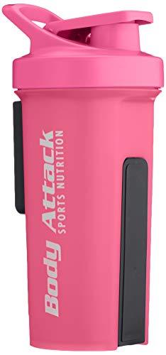 Body Attack Sports Nutrition GA Shaker, Pink, 1000 ml
