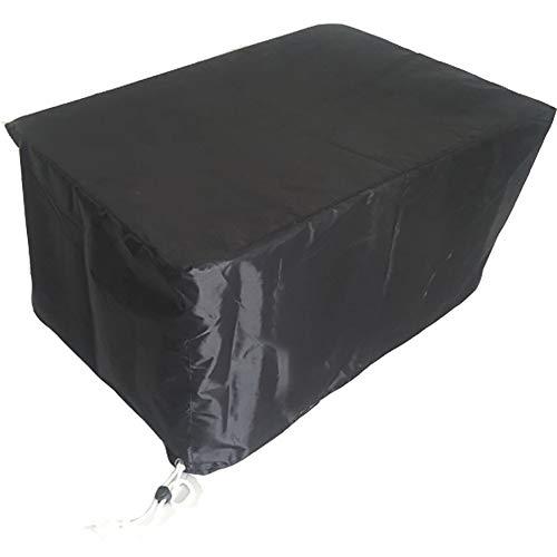 Tuinmeubel-afdekking voor buiten, tuinstoel, zonwering, vorstbescherming, polyester, voor vier seizoenen, zwart 242 * 162 * 100cm Blanco Y Gris