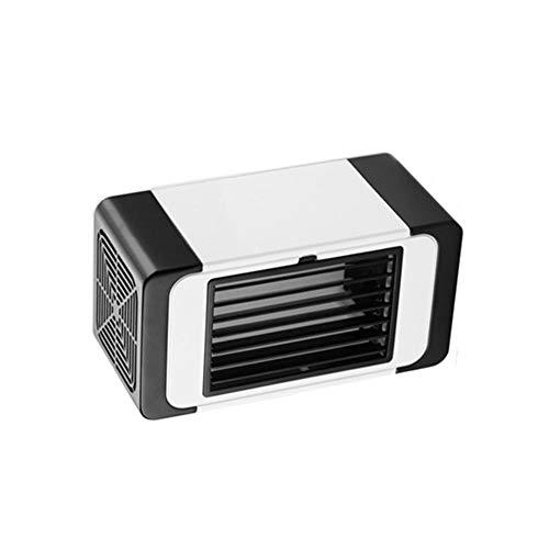 Draagbare, extreem stille USB-miniventilator laag stroomverbruik ventilator luchtkoeler milieuvriendelijke airconditioningventilator