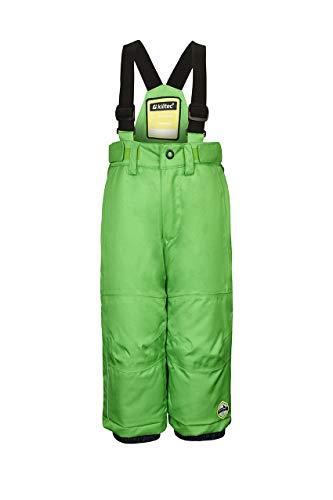Killtec Jordiny mini-skibroek voor kinderen met dragers en sneeuwvanger, 10.000 mm waterkolom, grow up functie - kindermode Die meegroeit