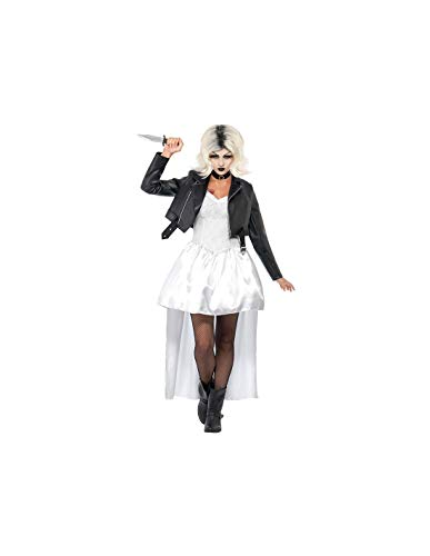 DISBACANAL Disfraz Novia de Chucky para Mujer - -, M