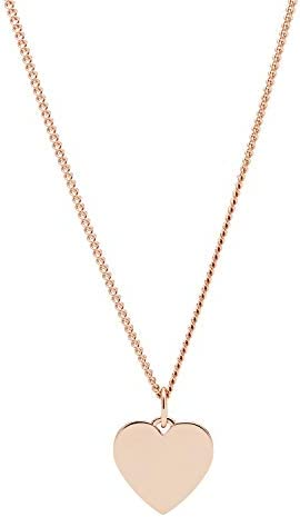 Fossil Gold Tone Stainless Steel Necklace product image