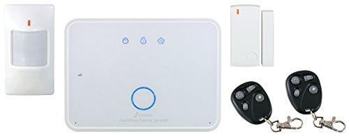 Stabo Elektronik Basisstation (Multifon Home Guard, GSM Alarmanlage und Funk Alarmsystem) weiß