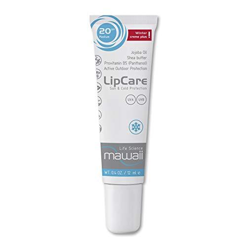 mawaii WinterCare LipCare Balm SPF 20 - Lippenpflegestift mit Sonnenschutz, Lippensonnenschutz, Lipbalm, ideal für Alpin- und Ausdauersport (1 x 12ml)