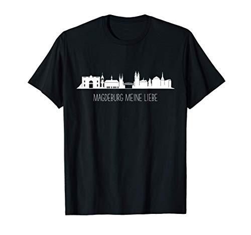 Magdeburg meine Liebe - perfekt für alle Magdeburg Fans T-Shirt