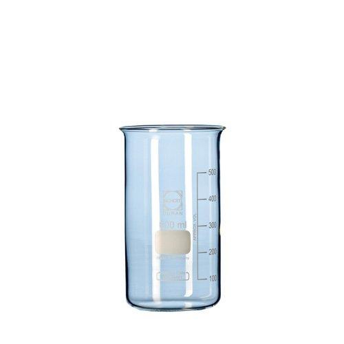 Duran 21 117 41 beker, hoge vorm, zonder tuit, 400 ml inhoud, 10 stuks