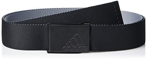 adidas Golf Golf Men's Reversible Web Belt, Black, One Size Fits Most
