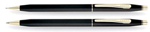 Cross Classic Century - Juego de Bolígrafo y portaminas, color negro
