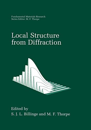 Local Structure from Diffraction (Fundamental Materials Research)の詳細を見る
