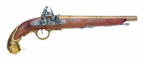 old flintlock pistol - 5