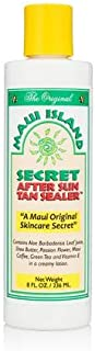 Maui Island Secret After Sun Tan Sealer 8 Oz.