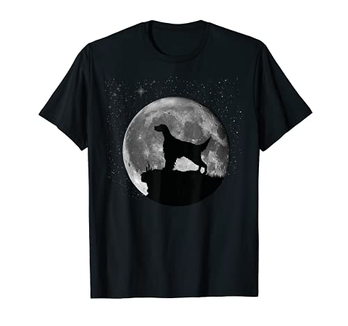 Perro Setter Inglés Diseño Camiseta