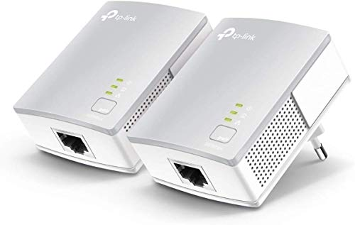 TP-Link TL-PA4010 KIT Powerline Adapter (600Mbit/s Powerline, 1x10/100Mbit/s Ethernet-poort, energiebesparend, compatibel met alle gangbare Powerline adapters) wit