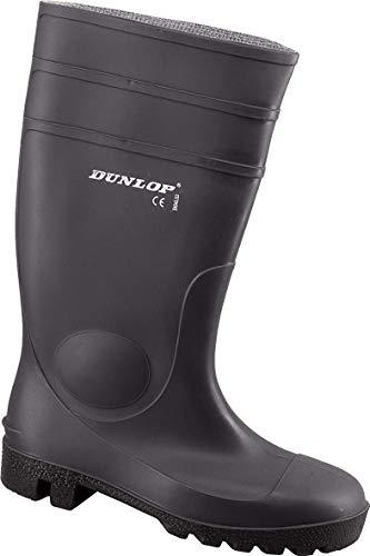 Dunlop Protomaster Full Safety Gummistiefel,Arbeitsstiefel,Regenstiefel,Gartenstiefel (36, schwarz)