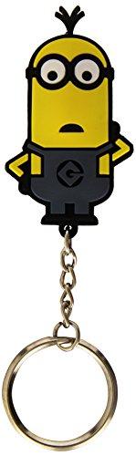 Joy Jouet en Vinyle 90318 Minions Porte-clés avec lumière Flash 4-Designs Assortis en Affichage (36 pièces)