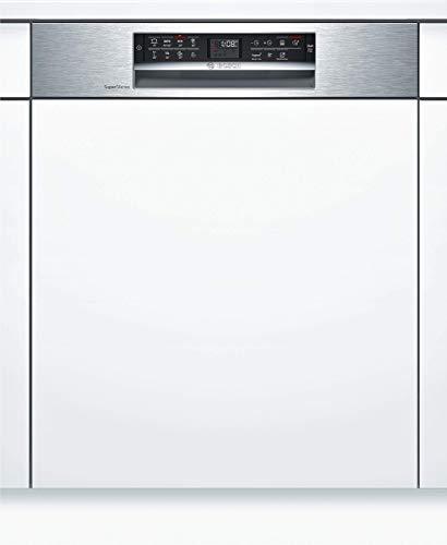 Bosch SMI68TS06E Serie 6 Geschirrspüler Teilintegriert / A+++ / 60 cm / Edelstahl / 237 kWh/Jahr / 14 MGD / SuperSilence / VarioSchublade Pro / Home Connect