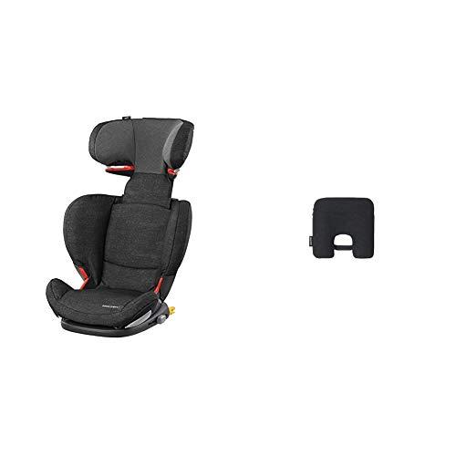 Bébé Confort RodiFix AirProtect Seggiolino Auto 15-36 kg, Reclinabile, Isofix, Nomad Black + Dispositivo Anti Abbandono, Sensore Antiabbandono...