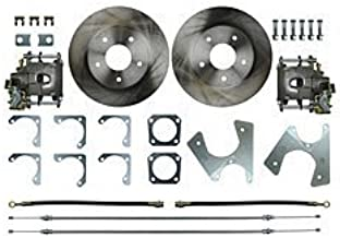 The Right Stuff Detailing TRD4705 Rear Disc Brake Conversion Kit, 5 lug, 10 or 12 bolt rear with cables