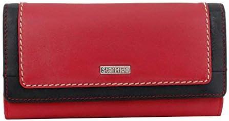 StarHide Women Wallet Ladies Genuine 2021new shipping security free RFID Blocking Leather Lon