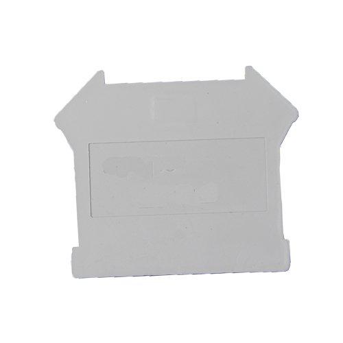 ASI ASIDUK410 Din Rail Mounted Terminal Block End Cover (Pack of 25)