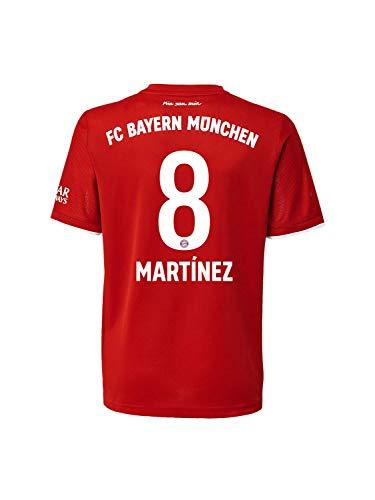 FC Bayern München Home-Trikot Saison 2020/21 Mini Kit, Gr. 104, JaviMartínez