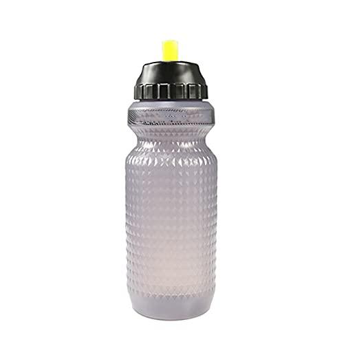 Botellas deportivas de 650 ml PP5 botella de agua portátil para bicicleta al aire libre, ciclismo, deportes y hervidor de agua (tamaño: tamaño libre; color: negro)