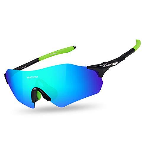 FANCYKIKI Radfahren Brille Fahrrad Farbwechsel Brille Erwachsene Outdoor Brille Geeignet for Outdoor Radfahren Liebhaber Lauf Sonnenbrille Männer Cricket Sonnenbrille (Farbe : A003)