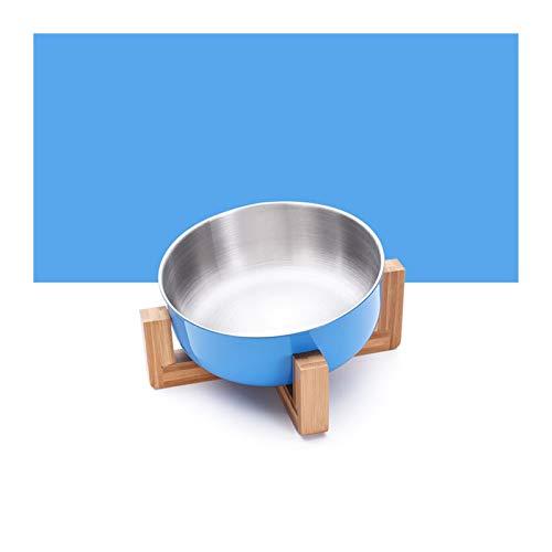 Tazón de perro Cuenco de alimentación para mascotas Cuenco de alimentos para perros de gato de acero inoxidable con 15 grados inclinados antideslizantes para mascotas para mascotas suministros para ma