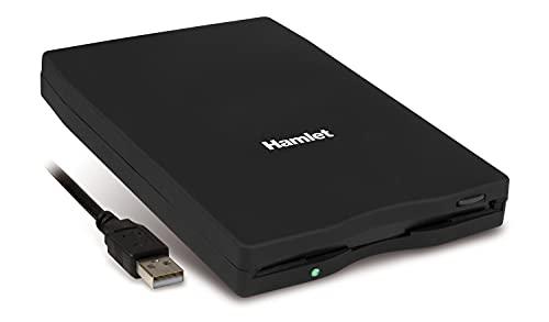 """Hamlet XFDUSB - Floppy Drive 3,5"""" USB, Compatibile con Windows e Mac"""