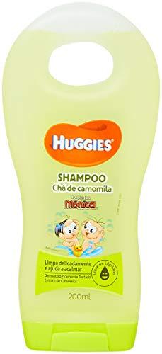 Shampoo Infantil Huggies Chá de Camomila, 200 ml