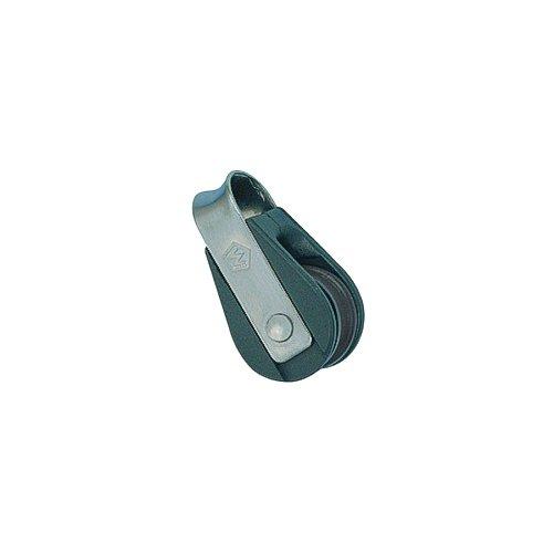 WICHARD U Bolt Waterproof AISI305CU with Rubber Collar 8 x 80mm Black