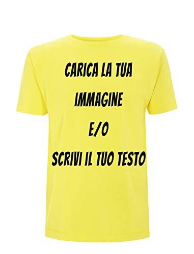 Generico t-Shirt da Stampare Personalizzare Maglietta Classica di Cotone Stampata con Inchiostro a Base d'Acqua Ultra Resistente ai lavaggi Personalizzabile stampabile