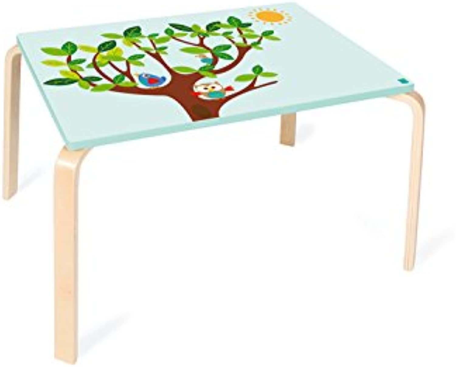 Scratch 6182323Table Chouette Lou, 70x 50x 45cm