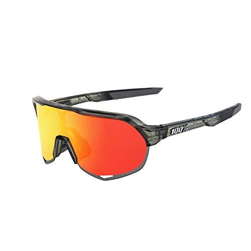 Mazu Homee Gafas deportivas para hombre y mujer, tres piezas de gafas de sol para bicicleta (opcional en varios colores)
