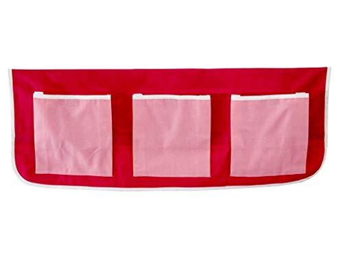 FLEXA BASIC Betttaschen Pink Rosa für Kinderbett 83-90005