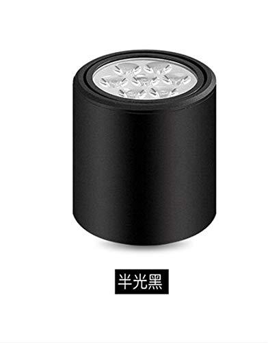5151BuyWorld Led-plafondlamp, moderne kleding, topkwaliteit, voor bergkamer, plafond, hal achter, afzuiging, accessoires voor LED-verlichting {warm licht + 3W & vaste head}