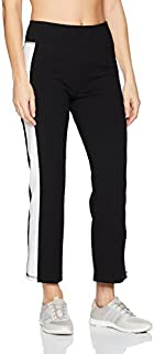 Calvin Klein Women's High Waist Side Stripe Crop Flare Pant